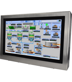 "Panel PC Industriel Inox 22"" - Intel Atom D2550"