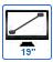 écran 19 pouces