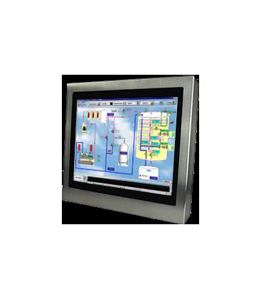 Panel PC Inox 12'' - Face avant