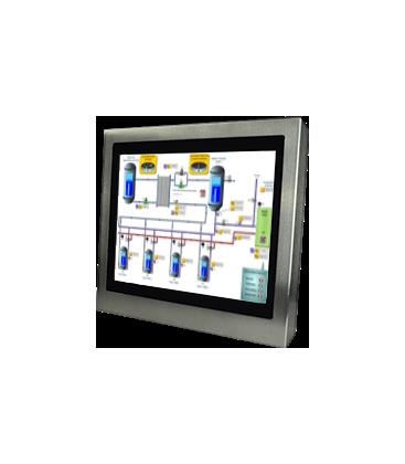 Panel PC Inox 19'' - Face avant