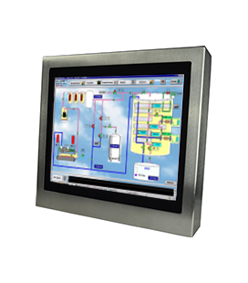 Panel PC Inox 12'' - Face avant