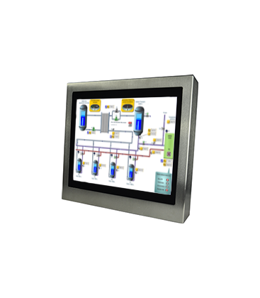 Panel PC Inox 19'' - Face avant