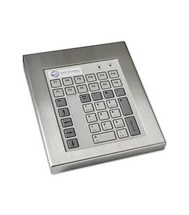 Clavier Industriel Inox 42 touches