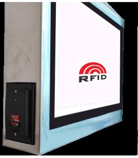 """Panel PC 21,5""""en Inox lecteur RFID"""