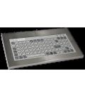 Clavier Industriel Inox 96 touches