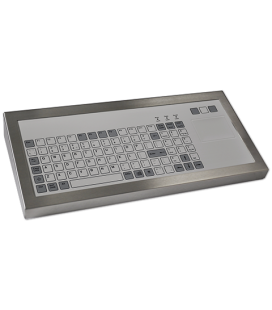 Clavier Industriel Inox 96 touches + Touchpad