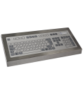 Clavier Industriel Inox 105 touches